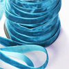 Petrol Crushed Velvet Ribbon