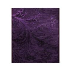 Purple Wired Paron Ribbon