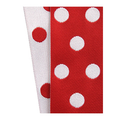 Red/White Cirq Ribbon