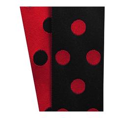 Red/Black Cirq Ribbon