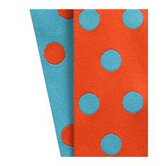 Orange/Turquoise Cirq Ribbon